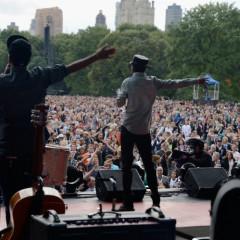 John Legend And The Black Keys Perform At The Global Citizen Festival