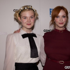 Christina Hendricks, Elle Fanning, Anna Kendrick & More Step Out For The Paley Center's 'Ginger And Rosa' Screening