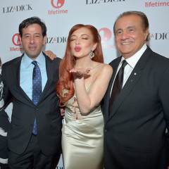 Last Night's Parties: Lindsay Lohan Fetes 'Liz & Dick' While Jessica Biel, Helen Mirren, Toni Collette Premiere 'Hitchcock'