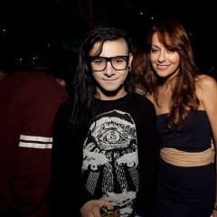 Skrillex & More Step Out For Interscope's AMA After Party Sponsored By NIVEA