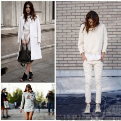 Winter Whites To Brighten Up Your Cold Weather Blues