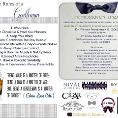 For The Gents: Modern Gentleman Evening At Nival Salon & Spa