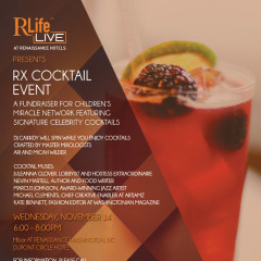 Do Not Miss: RX Fall Cocktail Party TOMORROW!