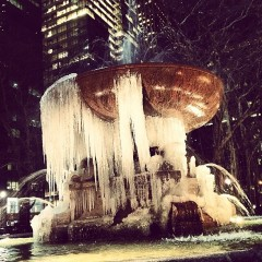 Photo Of The Day: Bryant Park Freezes Over