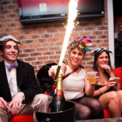 New Year's Eve Masquerade At Redline Gastrolounge