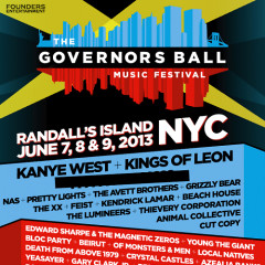 Governors Ball 2013 Lineup: Kanye, Kings Of Leon, And We Figured Out The Third Headliner!