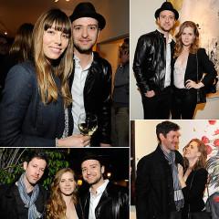 Last Night's Parties: Justin Timberlake, Amy Adams Host An Art Show, John Legend, Ciara Hit Pre-Grammy Events & More