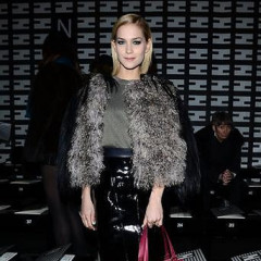 Best Dressed Guests: Front Row At Fall 2013 Milan Fashion Week