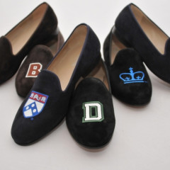 Today's Giveaway: Win A Pair Of Velvet Loafers From JP Crickets!