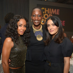 Last Night's Parties: Salma Hayek, Jada Pinkett Smith Support Gucci's Chime For Change, Abigail Spencer, Rose McGowan Celebrate With Decades' Cameron Silver & More