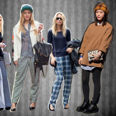 Street Style Trend: How To Wear Stripes And Plaid This Season