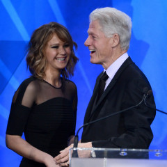 Last Night's Parties: Leo DiCaprio, Bill Clinton, Jennifer Lawrence Hit The GLAAD Media Awards, The Hemsworth Bros, Julianne Hough Celebrate Education & More