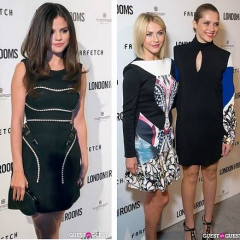 Julianne Hough, Selena Gomez & More Fete LONDON show ROOMS LA With The British Fashion Council