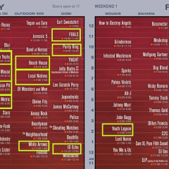 Coachella 2013 Set Times Revealed! Let's Plan Our Stage-Hopping