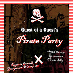 Do Not Miss: GofG's Pirate Party Sunset Cruise TOMORROW!