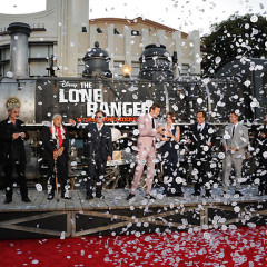 Last Night's Parties: Johnny Depp, Armie Hammer Premiere 'The Lone Ranger', Kristen Wiig, Pharrell Hit 'Despicable Me 2' & More