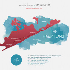 Join Nanette Lepore + The Styleliner For A Hamptons Road Trip