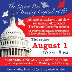 Queen Bee Designs To Host A Trunk Show On Capitol Hill TOMORROW