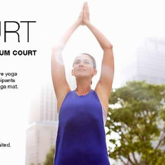 You're Invited: OM COURT Yoga Class On The Citi Open Court