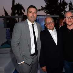 Last Night's Parties: Bret Easton Ellis Premieres 'The Canyons', Nick Offerman, Julianne Hough Celebrate 'Paradise' & More