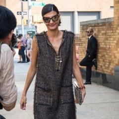 Fashion Week Street Style: Day 8 Outside Of Ralph Lauren