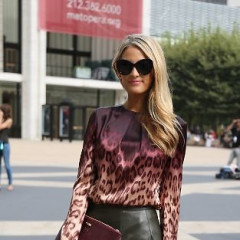 Fashion Week Street Style: Day 6 At The Tents