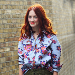 Street Style Trend: Fall Into Florals This Season