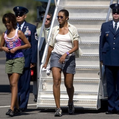 Michelle Obama Comments On The Short Shorts Fiasco of '09