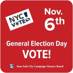 2013 NYC Elections: Don't Forget To Vote Today!