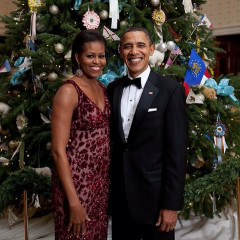 #TBT: The Obama's First Christmas At The White House