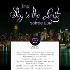You're Invited! Spend New Year's Eve With NightUP At Stollway Loft