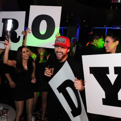 Last Night's Parties: Las Vegas Rings In 2014 With Miley Cyrus, Robin Thicke, Katy Perry & More