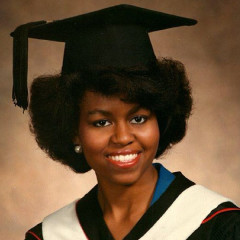 Throwback Thursday: A Look Back For Michelle Obama's 50th!