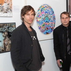 Inside Opening Night Of L.A.'s Biggest Cat Art Show