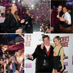 Last Night's Parties: 2014 New Year's Eve Bashes In Las Vegas & More