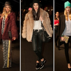 Fashion Week Street Style: Day 3 Outside Of Mara Hoffman At Lincoln Center