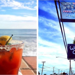 Soak Up Summer In Winter At These 16 Spots To Eat & Drink By The Beach This Weekend