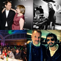 Last Night's Parties: Jude Law & Lena Dunham Party At Il Principe Following The