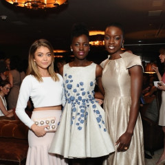 Last Night's Parties: Marie Claire Fetes Cover Stars Elle Fanning, Kate Mara, and Lupita Nyong'o; Kim Kardashian, Katy Perry Get Political & More