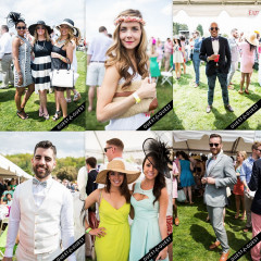Best Dressed Guests: Gold Cup 2014 With Becky's Fund + The Huxley