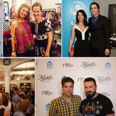 Last Night's Parties: Zachary Quinto & Taryn Manning Kick Off NYC Pride Weekend With Kiehl's & More!