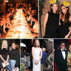 Last Night's Parties: Net-a-Porter Celebrates Victoria Beckham's New Collection With A Chic Dinner At The Bowery Hotel & More!