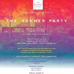 You're Invited: The Glass House Summer Party