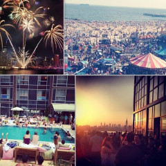 Instagram Round Up: How New Yorkers Celebrated 4th Of July Weekend 2014