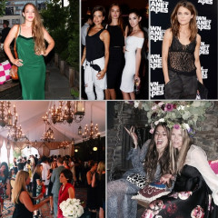 Last Night's Parties: Jemima Kirke Steps Out For ArtBinder's Bohemian Summer Soiree, Keri Russell Attends The