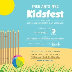You're Invited: Free Arts NYC's Kidsfest Hamptons 2014