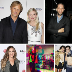 Last Night's Parties: Kirsten Dunst & Viggo Mortensen Attend A Screening Of