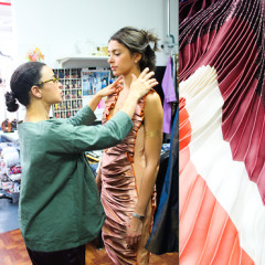 Interview: Designer Tia Cibani Takes Us Through Her SS15 Collection From Start To Finish