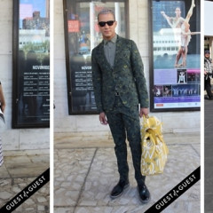 Fashion Week Street Style: Day 1 Outside Of BCBG At Lincoln Center