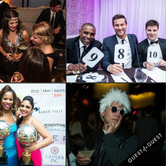 Last Night's Parties: IVY's Private Prohibition Party, DC's Dancing Stars Inaugural Gala, & More!